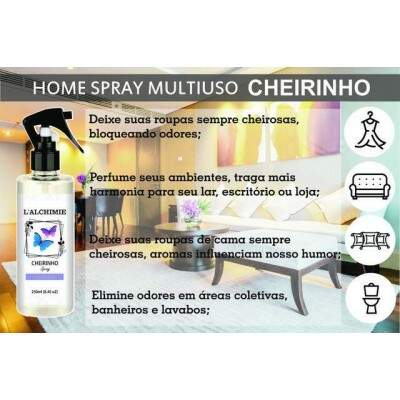 HOME SPRAY CHEIRINHO DE ORQUÍDEA 250ml