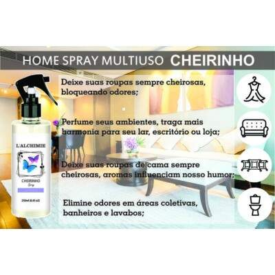 HOME SPRAY CHEIRINHO DE AMÊNDOAS 250ml