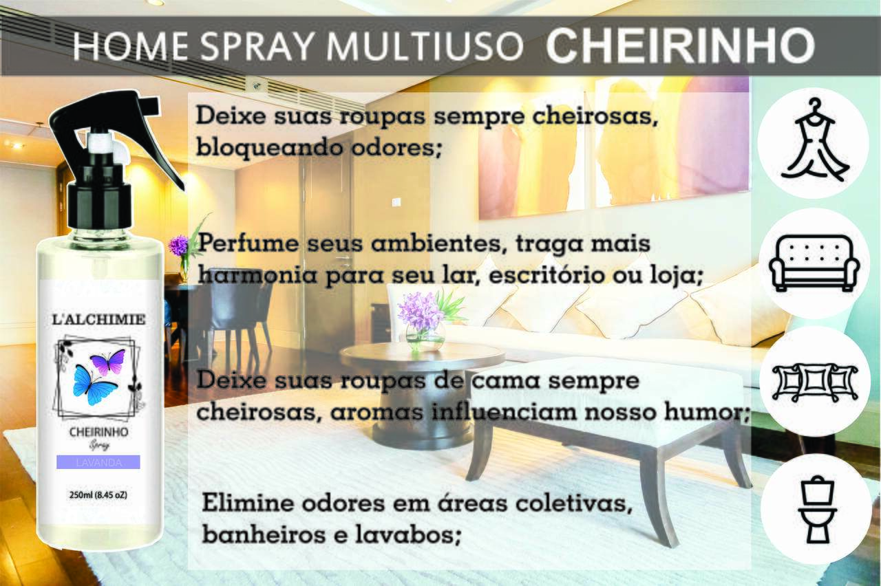 HOME SPRAY CHEIRINHO DE LIMA DA PÉRCIA 250ml