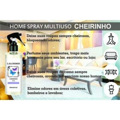 HOME SPRAY CHEIRINHO DE MORANGO 250ml
