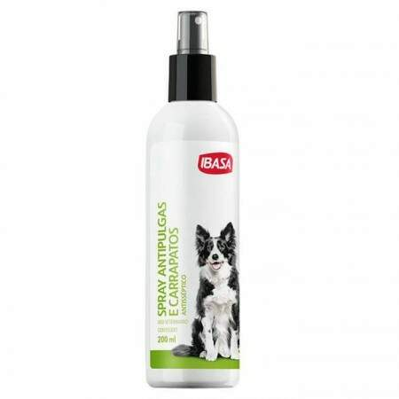 Antipulgas e Carrapatos Ibasa Spray 200ml