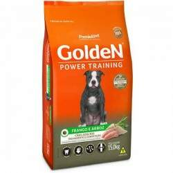 Ração Golden Power Training Premium Especial Adulto Raças Médias Frango e Arroz 15kg