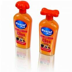 Shampoo Genial Pet Antipulgas e Carrapatos para Cães 500ml.
