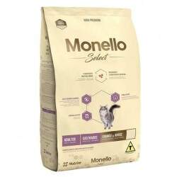 Ração Monello Select Hight Premium Gatos Castrados Frango e Arroz 7kg