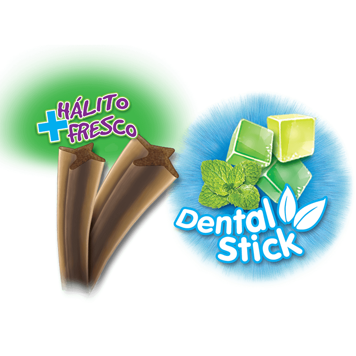 Petisco para Cachorro Twistie Dental Stick 45g.