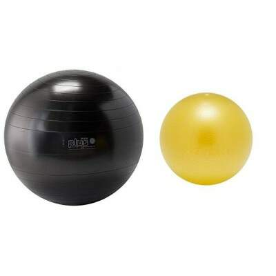 Combo 1 unid Bola Gymnic plus 65 cm + 1 unid bola Overball 25 cm