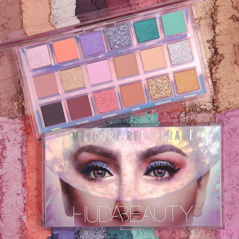 Paleta de Sombras Huda Beauty Mercury Retrograde Eyeshadow