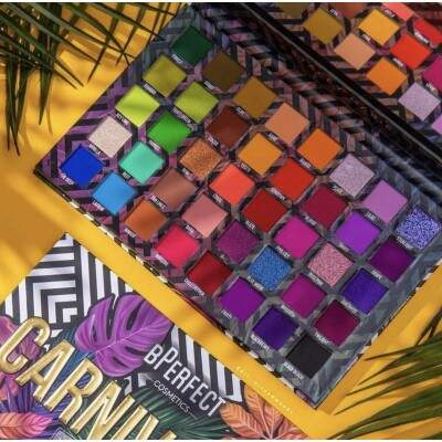 PALETA DE SOMBRAS CARNIVAL III LOVE TAHITI -BPERFECT x STACEY MARIE