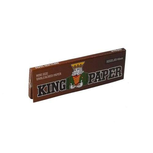 Seda King Paper Mini Size Unbleached (Brown) unidade
