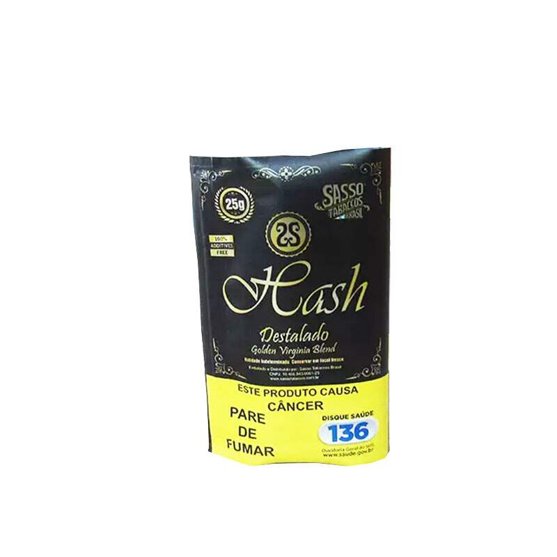 Fumo para cigarro Sasso Hash Golden Virginia Blend destalado 25g