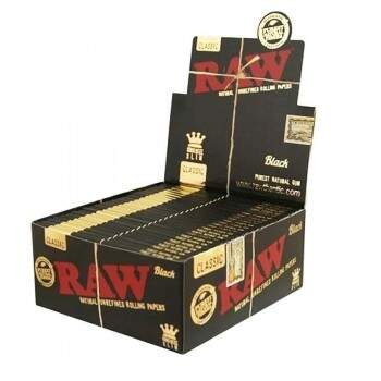 Seda Raw Black King Size cx. c/50