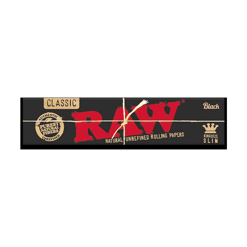 Seda Raw Black King Size Unidade