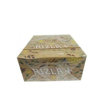 Seda Rizla Natural Hemp King Size caixa com 50
