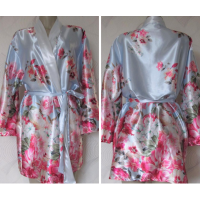 Robe Floral Azul Serenity