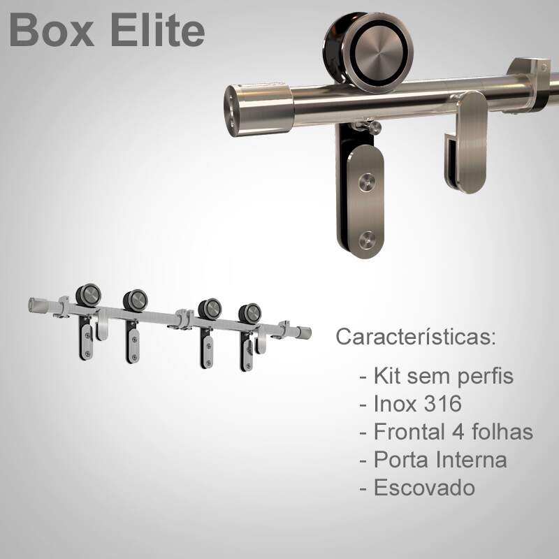 Box de Correr - Modelo Elite