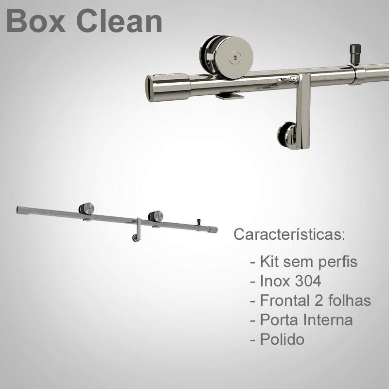 Box de Correr - Modelo Clean
