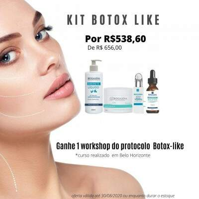 Kit Promo Botox Like mais Curso