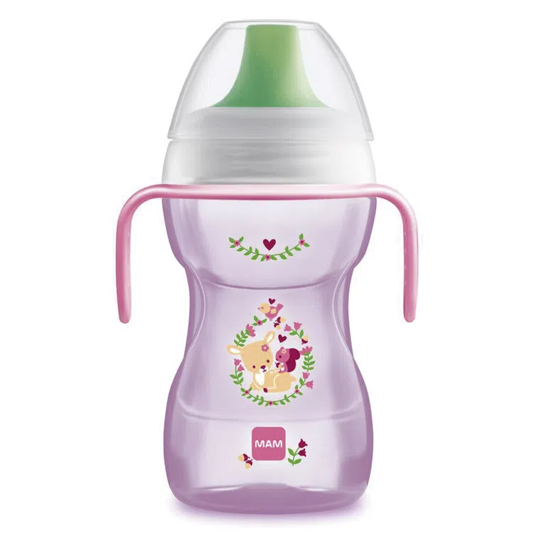 Mam Fun to Drink Cup 270ml - Rosa