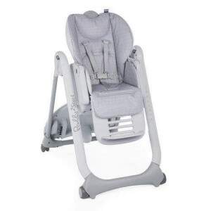 CHICCO CADEIRA D/PAPA POLLY2START HAPPY SILVER BR