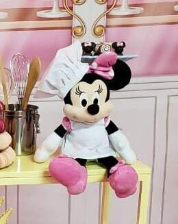 Personagens turma do Mickey - Minnie confeiteira