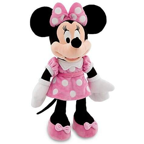 Personagens turma do Mickey - Minnie rosa