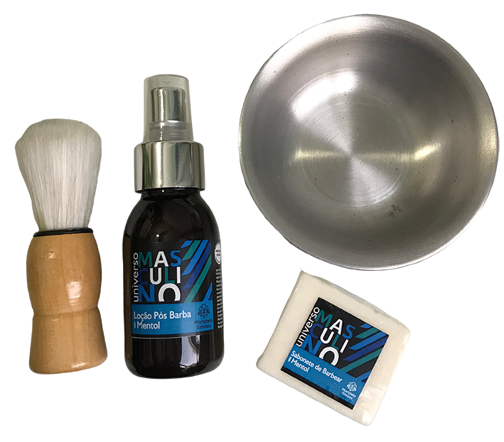 Kit de Barbear Basic for Shave - Maristela Simões