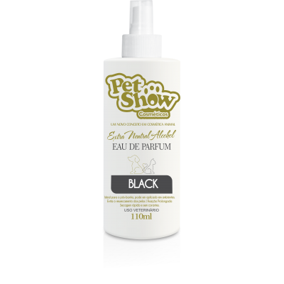 PERFUME BLACK 110 ML - PET SHOW