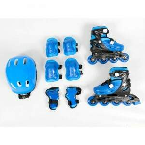 KIT RADICAL ROLLERS COMPLETO AZUL (M) 6657 TAM (33 ao 36)