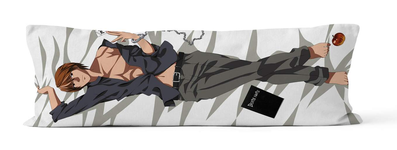 Capa Dakimakura Light Yagami do Anime Death Note