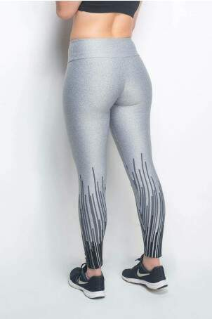 Calça Legging Fitness Matrix Mescla