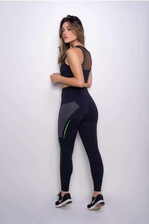 Calça Legging Fitness Comfort Move UV50+