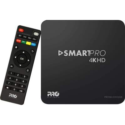 Smart TV Box Android 2GB PROSB-2000/2GB Preto PROELETRONIC