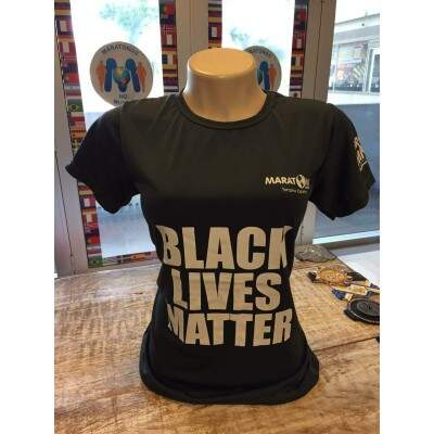Camiseta Lives Black Matter Cinza