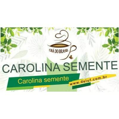 CAROLINA SEMENTE - 500g - CHA DO BRASIL
