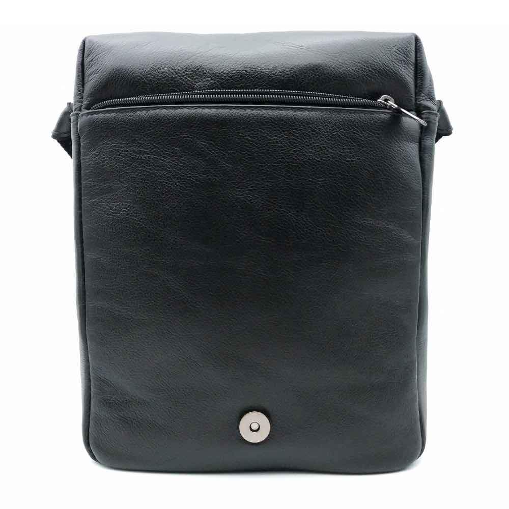 Bolsa Turista Tablet 10 Couro Flother Preto Bennesh 17116