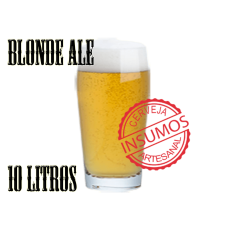 Receita Blonde Ale 10 litros (Kit Blonde Ale)