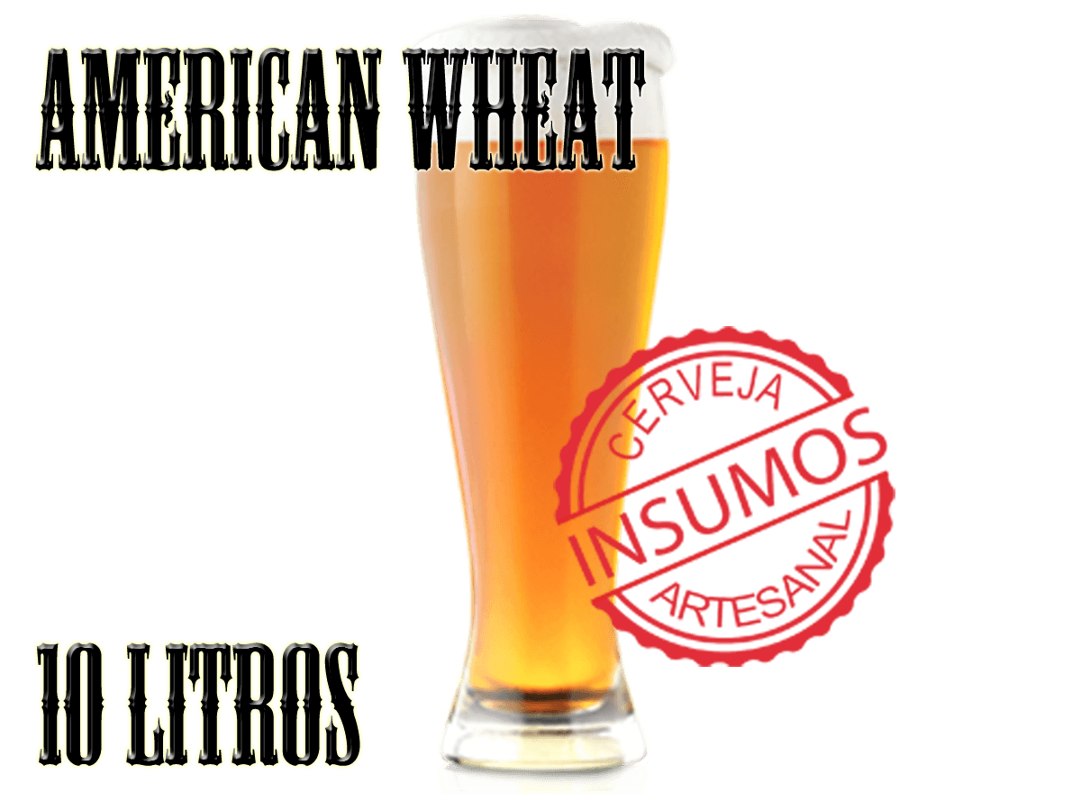 Receita American Wheat 10 litros (Kit American Wheat)