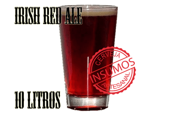Receita Irish Red Ale 10 litros (Kit Irish Red Ale)