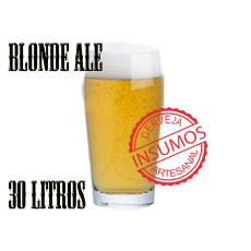 Receita Blonde Ale 30 litros (Kit Blonde Ale)