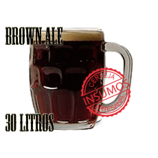 Receita Brown Ale 30 litros (Kit Brown Ale)