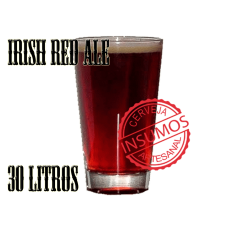 Receita Irish Red Ale 30 litros (Kit Irish Red Ale)