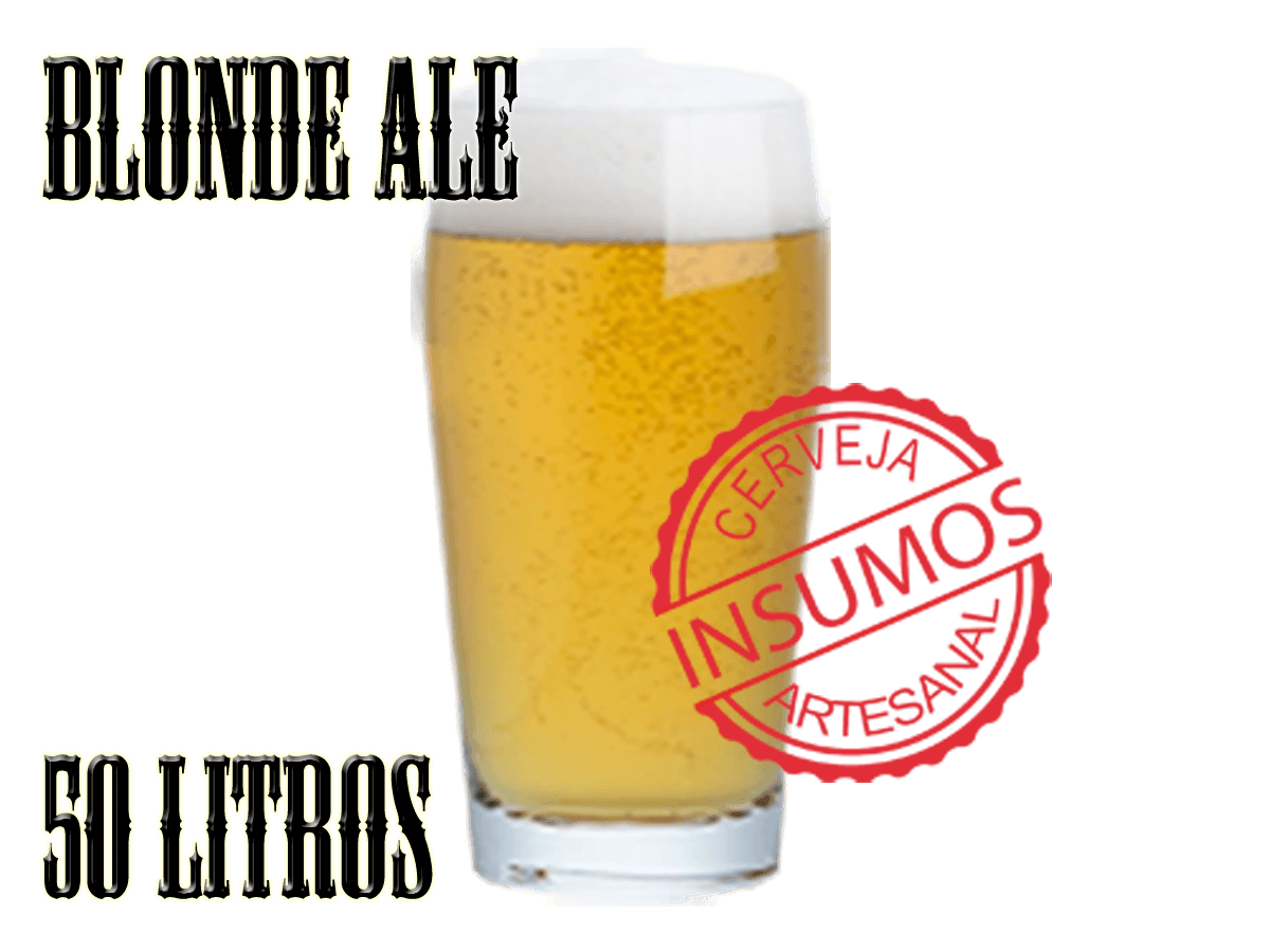Receita Blonde Ale 50 litros (Kit Blonde Ale)