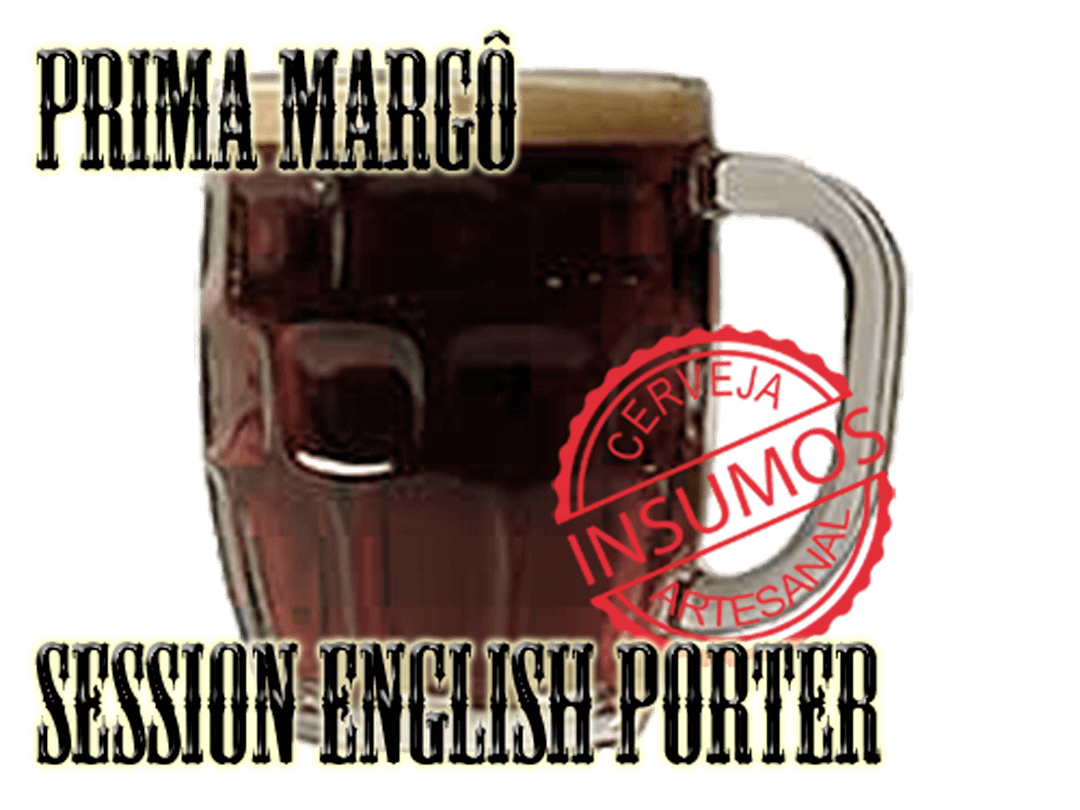 Receita Prima Margo (Kit Session English Porter)