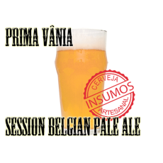 Receita Prima Vânia (Kit Session Belgian Pale Ale)