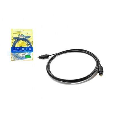 CABO OPTICO PARA AUDIO DIGITAL 5M PRETO OD2.2 CBXOAM50
