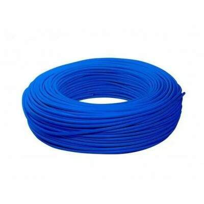 CABO CFTV CAT5 100MTS PURO COBRE 8 VIAS AZUL TEX CONNECT