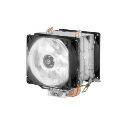 COOLER DX-9100D LED  BRANCO NTEL/AMD DUPLA-FAN