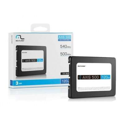 HD SSD 120GB AXIS 500 MULTILASER SS100