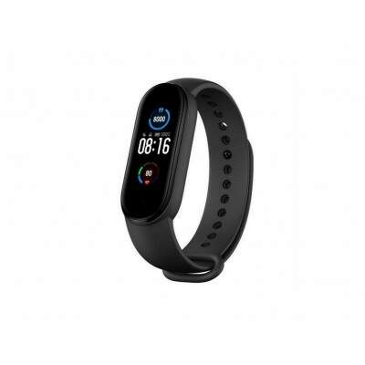 PULSEIRA SMART XIAOMI MI BAND 5 BLUETOOTH PRETO