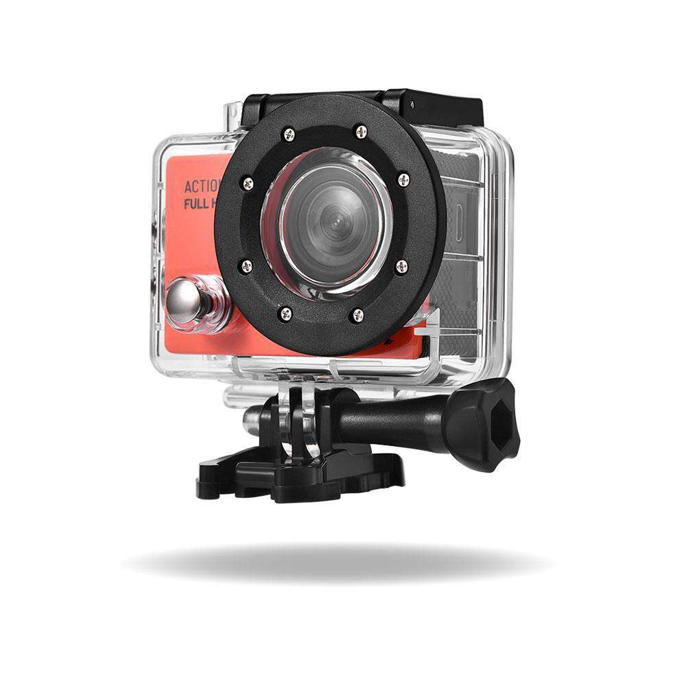 CAMERA DE ACAO GOPRO FULL HD 1080p TELA LCD 2POL 12MP 30FPS